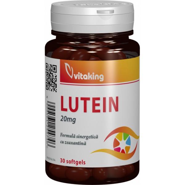 Luteina 20 mg VITAKING - 30 capsule gelatinoase