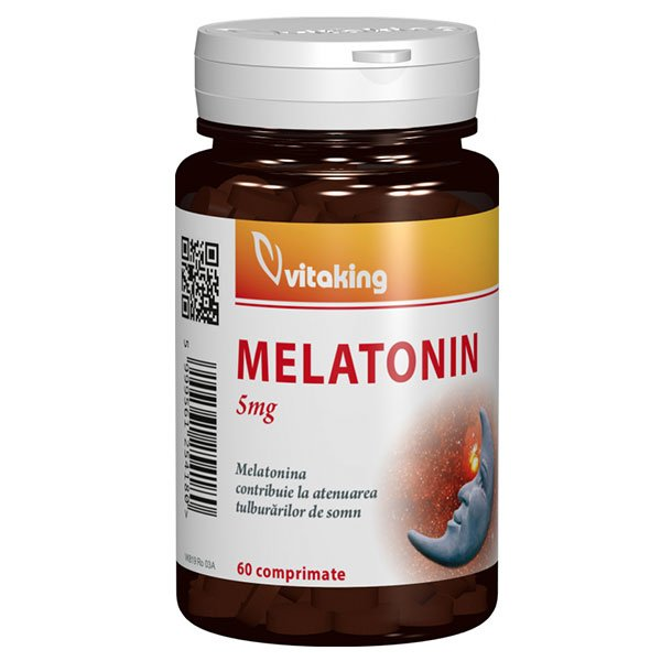 Melatonina 5 mg VITAKING - 60 comprimate