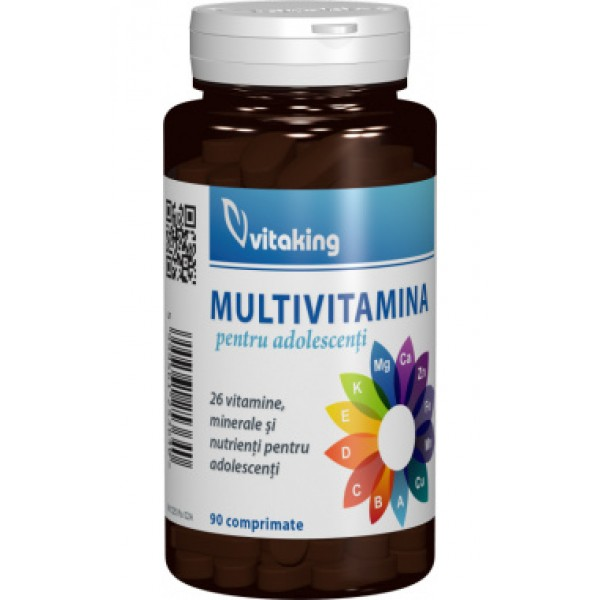 Multivitamina pentru adolescenti Vitaking - 90 comprimate