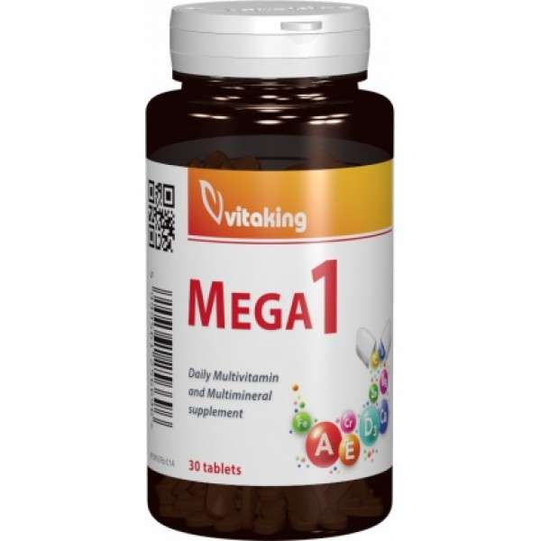 Multivitamina Mega 1 Vitaking - 30 comprimate