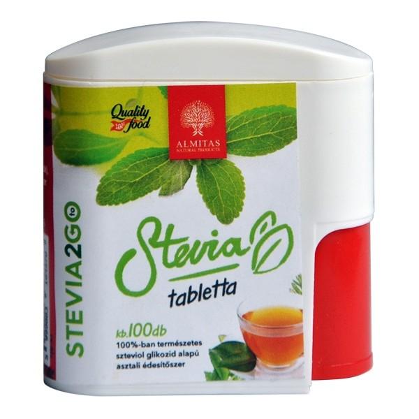 Tablete stevia ALMITAS - 100 comprimate