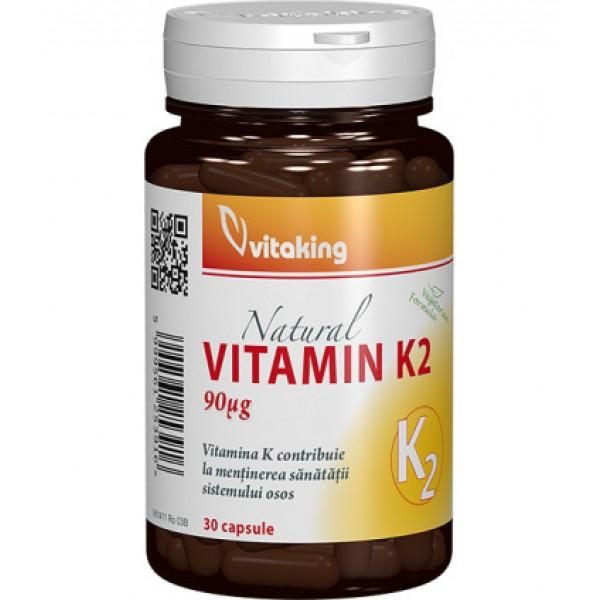 Vitamina K2 VITAKING - 30 capsule