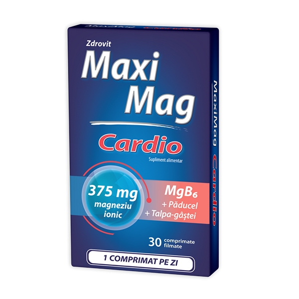 Maximag cardio Zdrovit - 30 comprimate