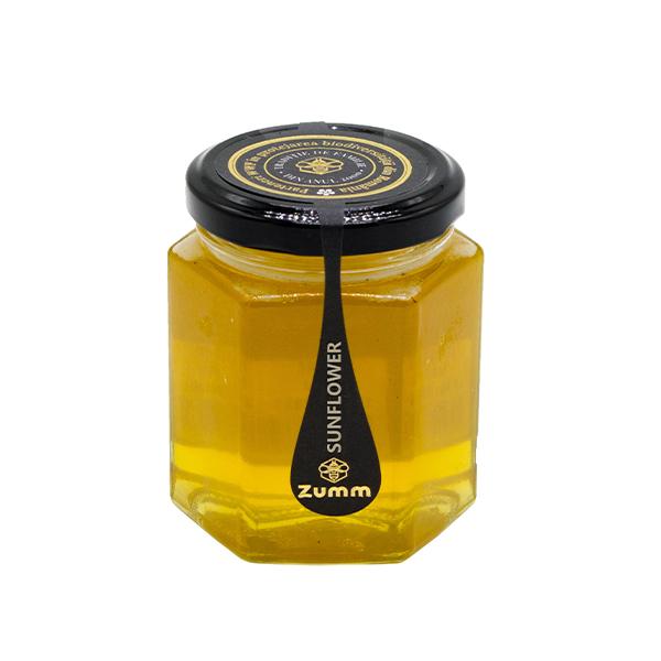 Miere de floarea-soarelui Zumm Miere - 500 g