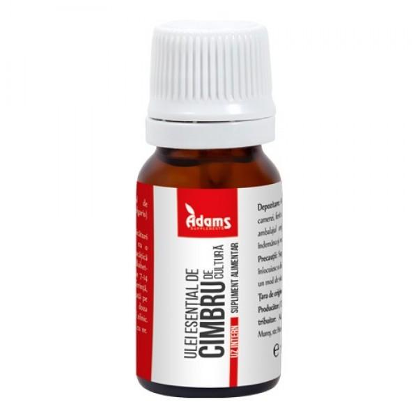 Ulei esential de cimbru (uz intern) Adams - 10 ml