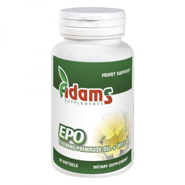 EPO (Evening primrose) 1000mg Adams Supplements - 30 capsule