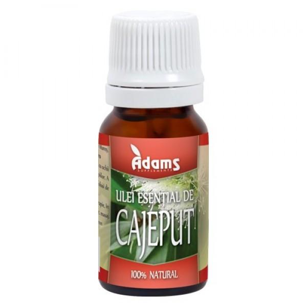 Ulei esential de cajeput Adams Supplements - 10 ml