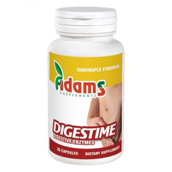 Digestime - Enzime digestive Adams Supplements - 20 capsule