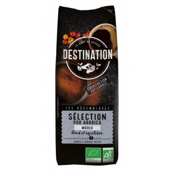 Cafea macinata pur Arabica Selection BIO Destination - 250 g