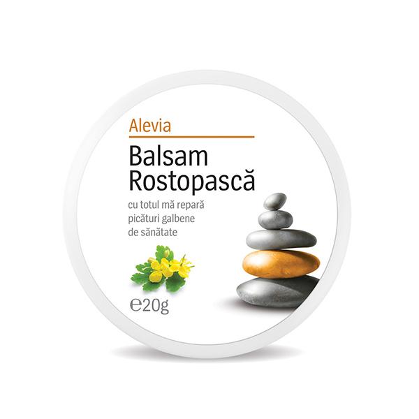 Balsam rostopasca Alevia - 20 g imagine produs 2021 Alevia