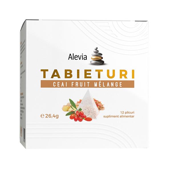 Ceai fruit melange Tabieturi (12 plicuri piramida) Alevia - 26.4 g imagine produs 2021 Alevia