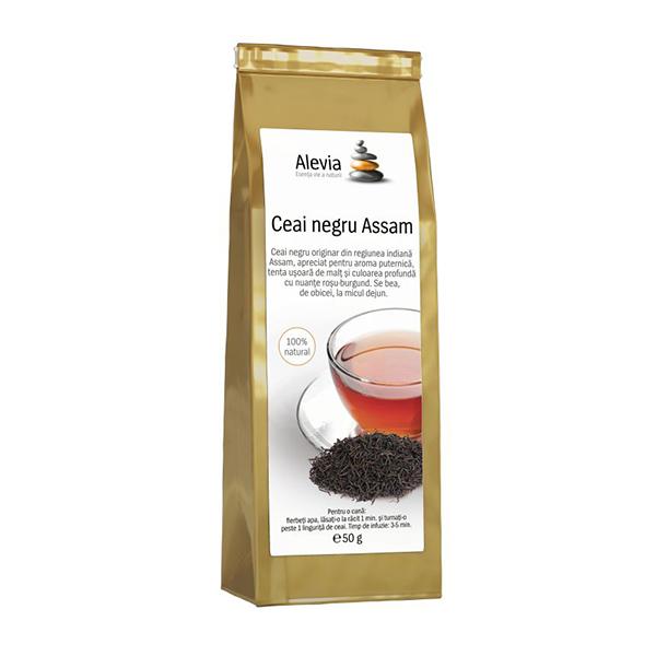 Ceai negru Assam Alevia - 35 g imagine produs 2021 Alevia