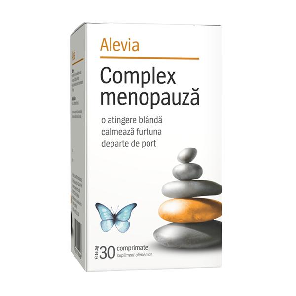 Complex menopauza Alevia - 30 comprimate imagine produs 2021 Alevia