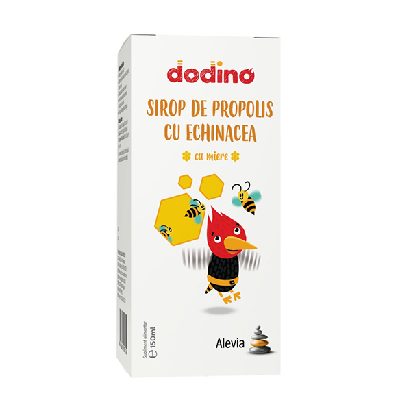 Sirop de propolis cu echinacea Dodino Alevia - 150 ml imagine produs 2021 Alevia