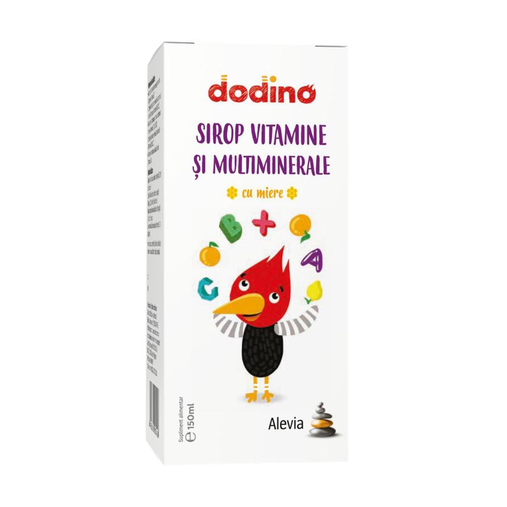 Sirop vitamine si multiminerale Dodino Alevia - 150 ml imagine produs 2021 Alevia