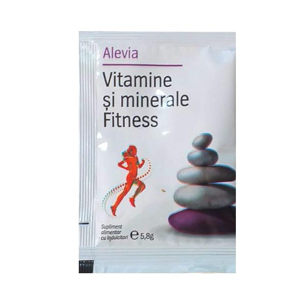 Vitamine si minerale Fitness Alevia - 1 plic imagine produs 2021 Alevia