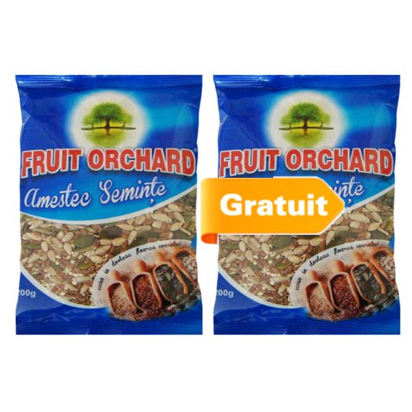 Amestec miez & seminte crude - 200 g (Pachet 1+1 Gratis) imagine produs 2021 Dried Fruits