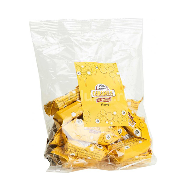 Caramele cu polen Apidava - 250 g imagine produs 2021 Apiterra