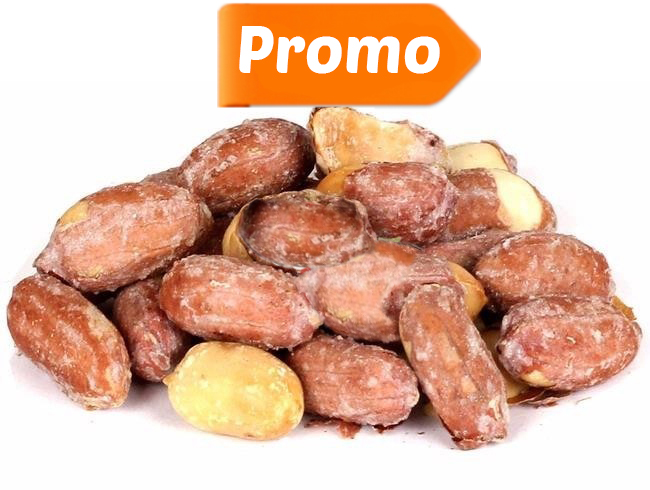 Arahide nedecojite coapte si sarate (rosii) - 1 kg + 500 g Gratis imagine produs 2021 Dried Fruits