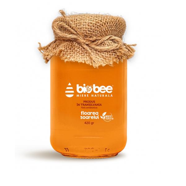 Miere de floarea soarelui BioBee - 420 g imagine produs 2021 BioBee