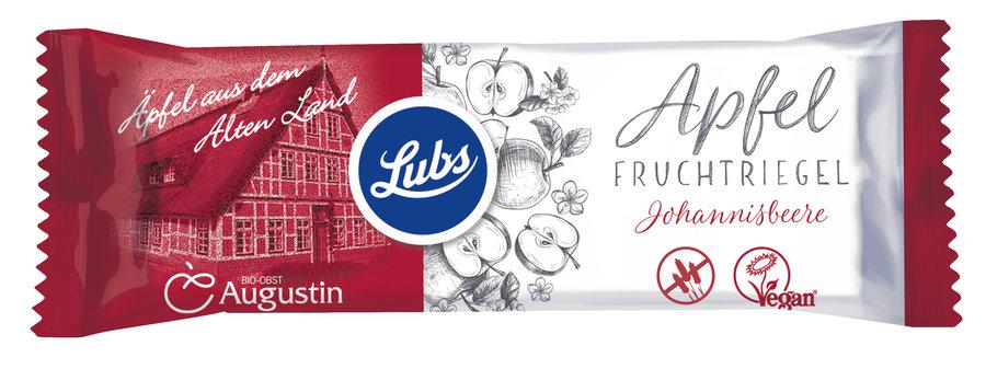Baton fructe cu mere si coacaze rosii (fara gluten) BIO Lubs - 30 g imagine produs 2021 Horst Bode