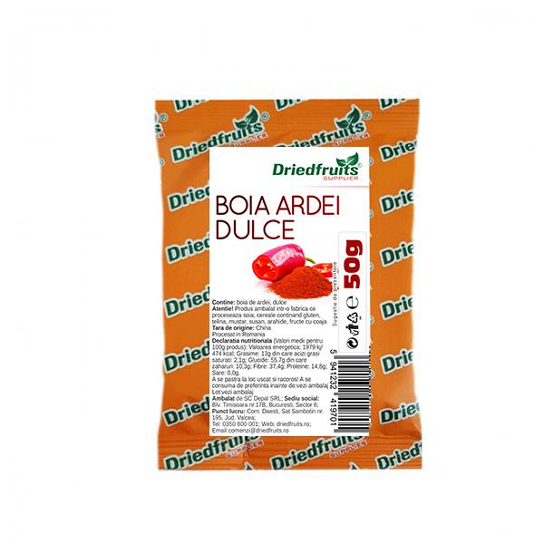 Boia ardei dulce pudra - 50 g imagine produs 2021 Dried Fruits