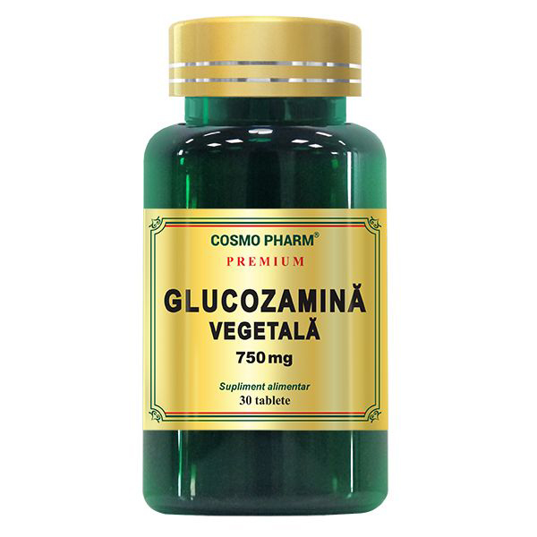 Glucozamina vegetala 750 mg Cosmo Pharm - 30 tablete imagine produs 2021 Cosmo Pharm