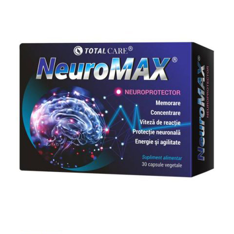 NeuroMAX Cosmo Pharm - 30 capsule imagine produs 2021 Cosmo Pharm