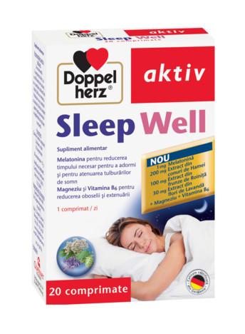 Aktiv Sleep Well Doppelherz - 20 capsule imagine produs 2021 Doppel Herz