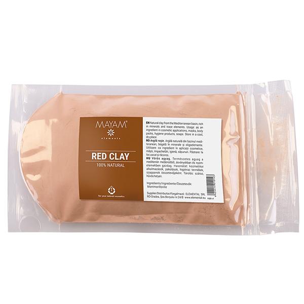 Argila rosie Mayam - 100 g imagine produs 2021 Elemental