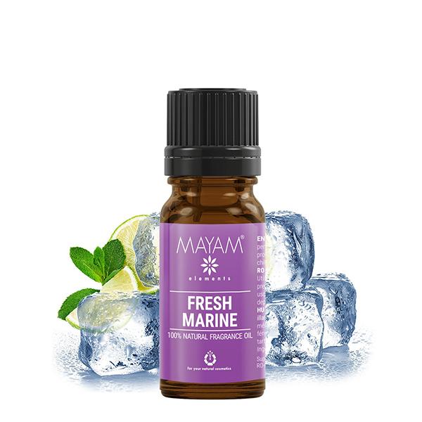 Parfumant natural fresh marine Mayam - 10 ml imagine produs 2021 Elemental