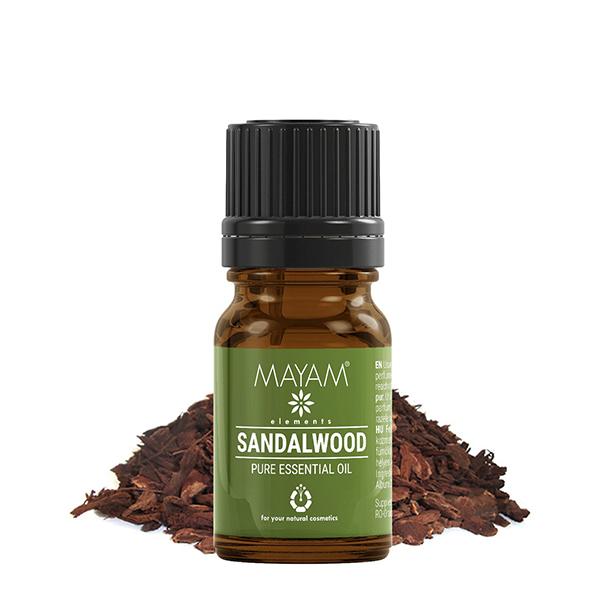 Ulei esential de lemn de santal Mayam - 2 ml imagine produs 2021 Elemental