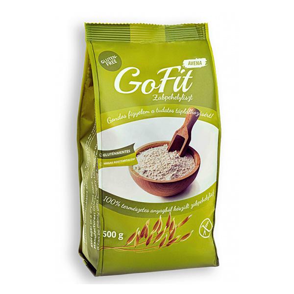 Faina ovaz (fara gluten) GoFit - 500 g imagine produs 2021 Probios