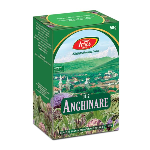 Ceai anghinare frunze (punga) Fares - 50 g imagine produs 2021 Fares