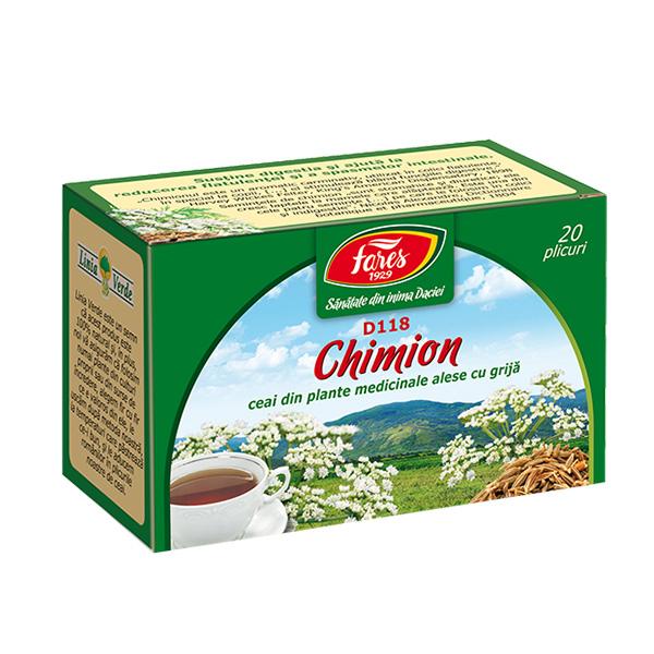 Ceai chimion fructe (20 pliculete) Fares - 20 g imagine produs 2021 Fares