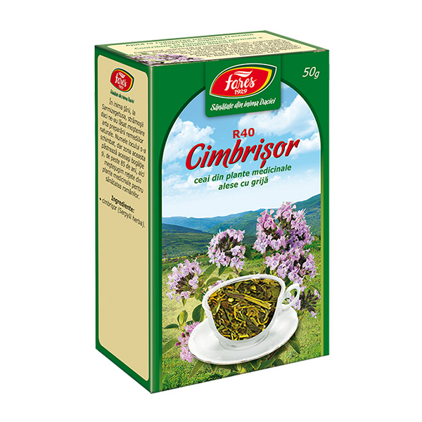 Ceai cimbrisor iarba (punga) Fares - 50 g imagine produs 2021 Fares
