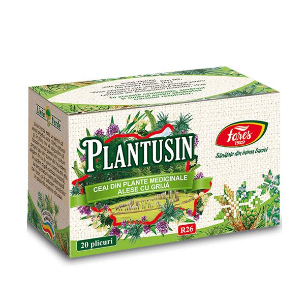 Ceai plantusin (20 pliculete) Fares - 30 g imagine produs 2021 Fares