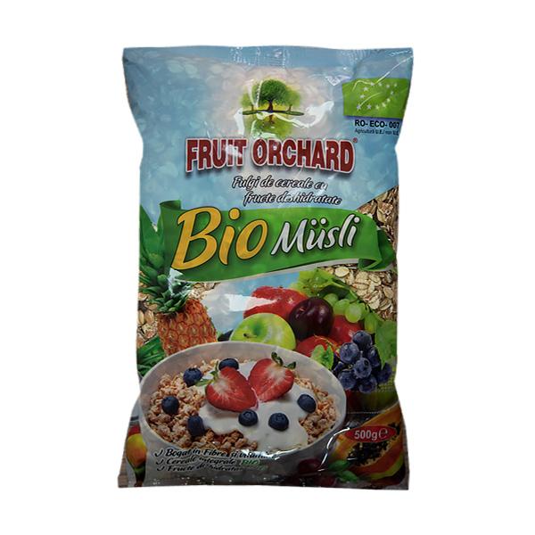 Fulgi cereale cu fructe (muesli) BIO - 500 g imagine produs 2021 Dried Fruits