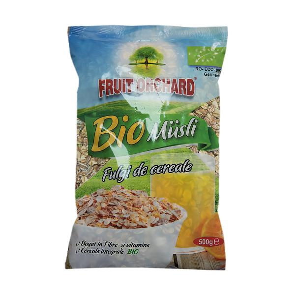 Fulgi cereale (baza muesli) BIO - 500 g imagine produs 2021 Dried Fruits