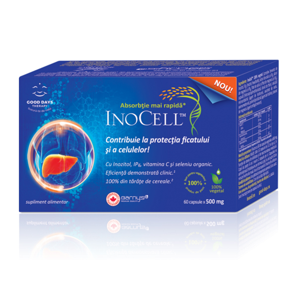 InoCell Good Days Therapy - 60 capsule imagine produs 2021 Good Days Therapy