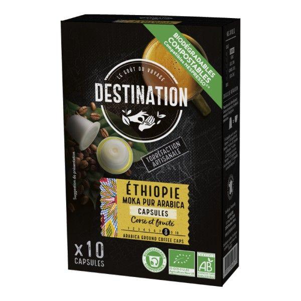 Capsule cafea Moka (10 bucati) BIO Destination - 55 g imagine produs 2021