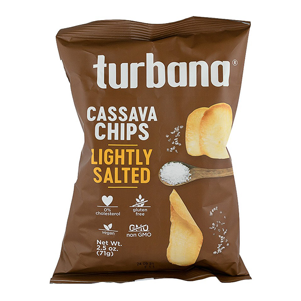 Chips de Yuca (cassava) cu sare (fara gluten) Turbana - 71 g imagine produs 2021 Dried Fruits