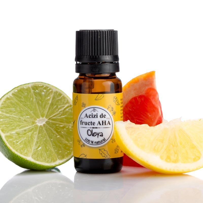 Acizi de fructe AHA Oleya - 10 ml imagine produs 2021 Oleya