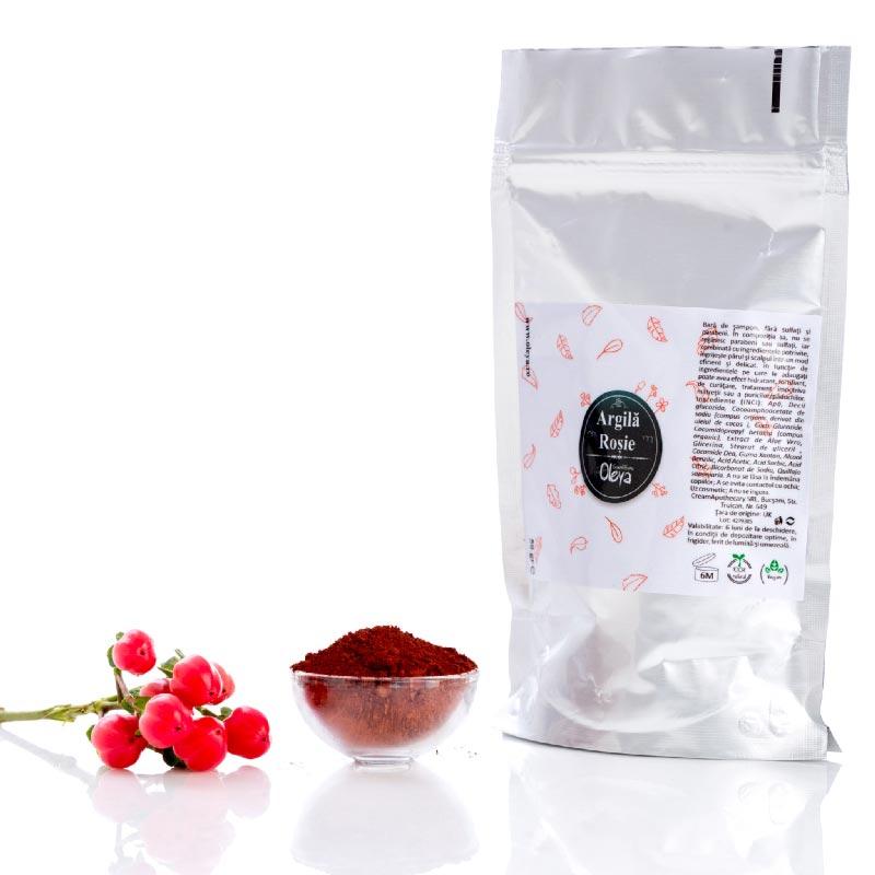 Argila rosie Oleya - 50 g imagine produs 2021 Oleya