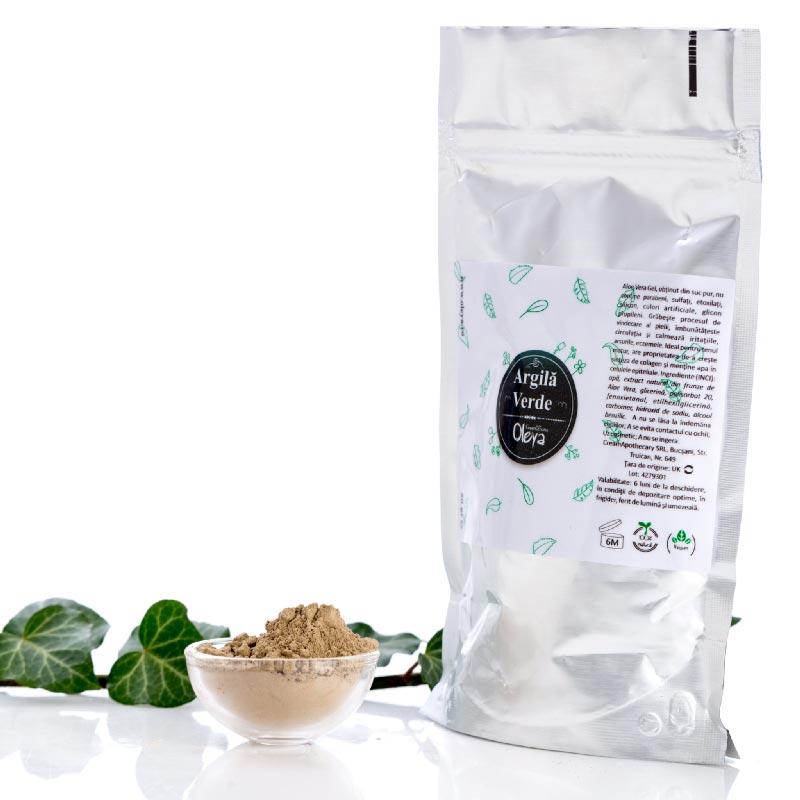 Argila verde Oleya - 50 g imagine produs 2021 Oleya