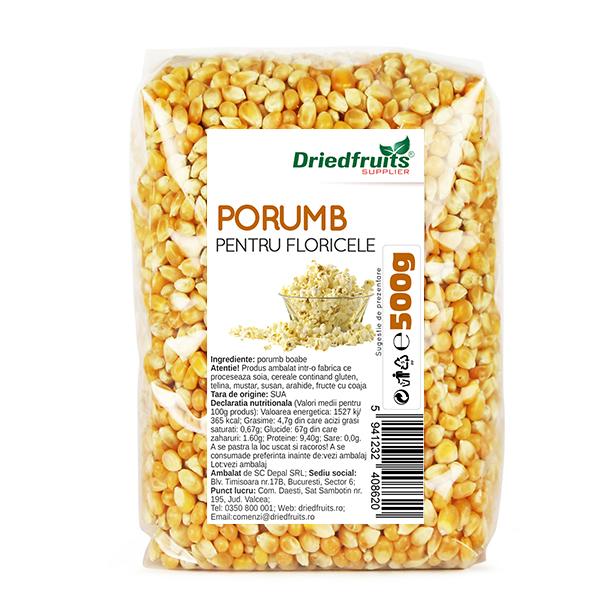 Porumb popcorn - 500 g imagine produs 2021 Dried Fruits