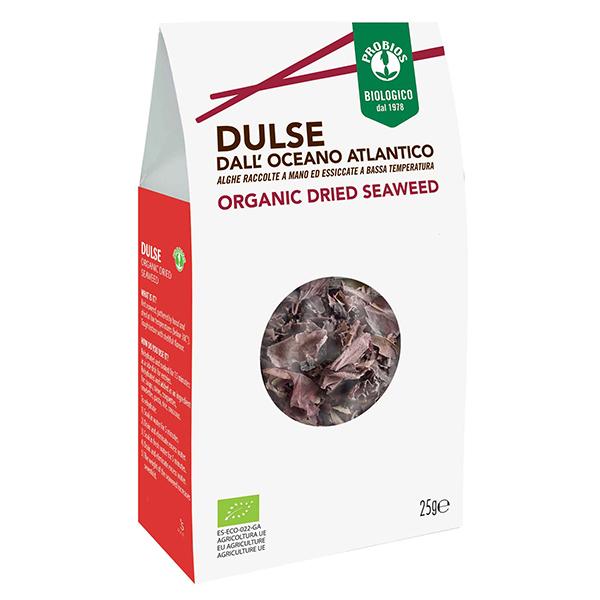 Alge de mare Dulse Probios BIO - 25 g imagine produs 2021 Probios
