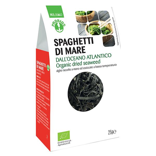 Alge de mare Spaghetti di mare Probios BIO - 25 g imagine produs 2021 Probios