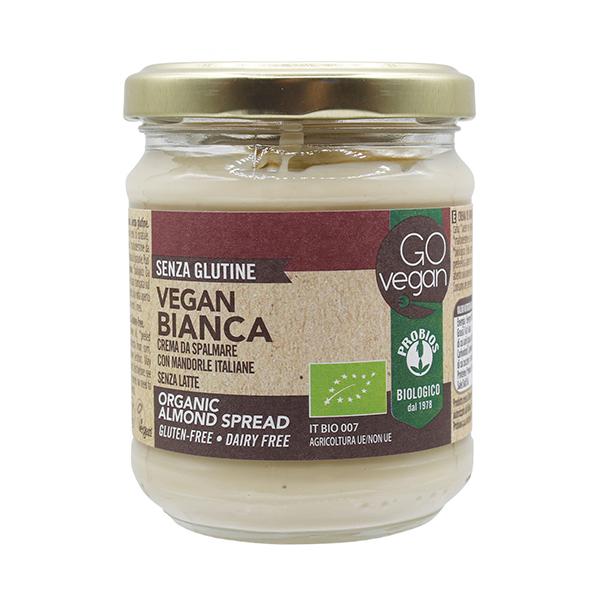 Ciocolata vegana cu migdale decojite (fara gluten) Probios BIO - 200 g imagine produs 2021 Probios