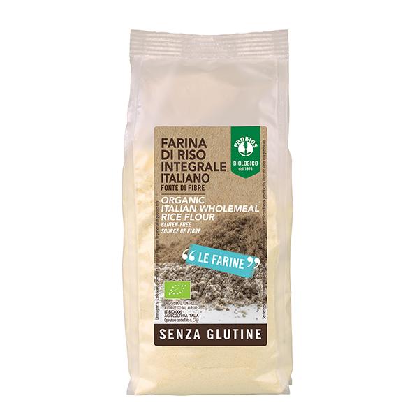 Faina orez integral (fara gluten) Probios BIO - 375 g imagine produs 2021 Probios